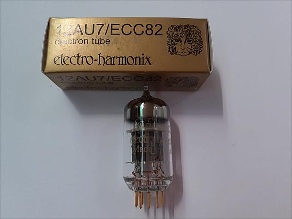 ECC82-12AU7-Electro Harmonix-Gold