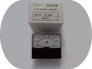 Strumento-pannello-100microA-CC