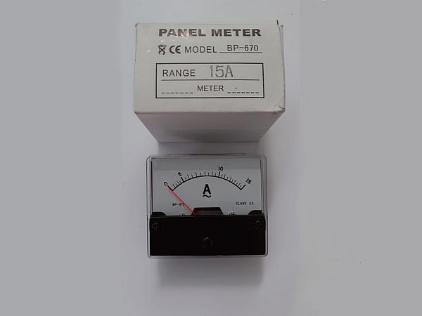 Strumento-pannello-15A-AC