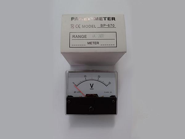 Strumento-pannello-30V-CC