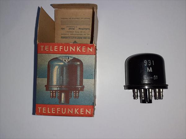 Valvola Telefunken-VF 14 (M)